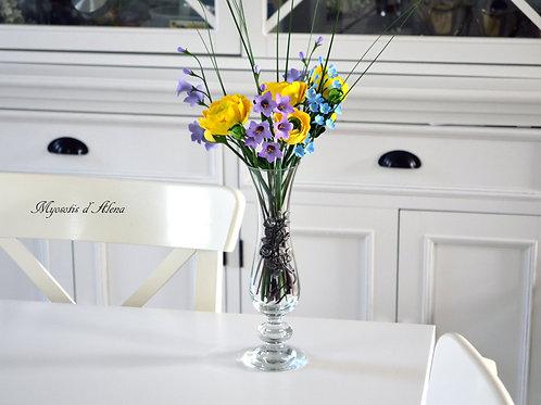composition floral, bouquet des fleurs