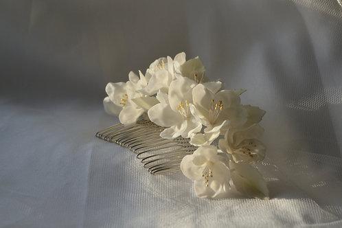 Peigne fleurs mariée, Pommier