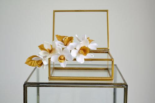 Orchidées pour coiffure EDEN, accessoires cheveux