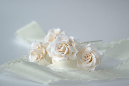 Pics à cheveux mariage, Rose XS
