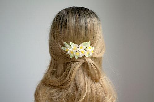 Sakura, cerisier à fleurs japonais pour coiffure