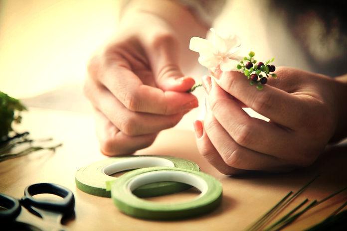 fabrication des fleurs