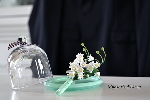 boutonnière mariage muguet