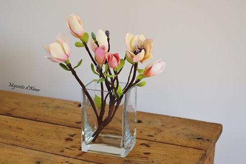 magnolia, magnolia artificielle, décoration maison