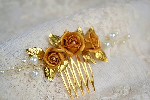 Bijou de tête Vintage, accessoires cheveux mariage