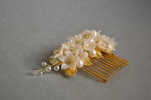 Bijoux pour les cheveux, peigne de mariée