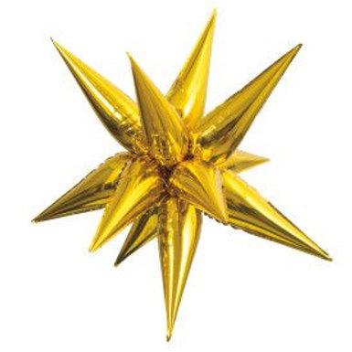 "Balloon Foil 39"" Star Gold"