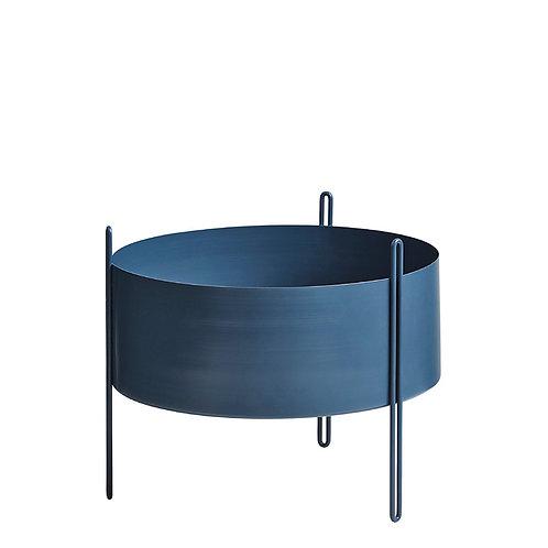Pidestall pot de fleur (moyen) bleu