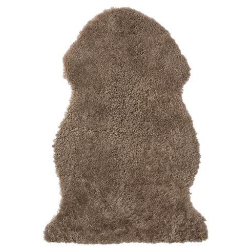 Peau de mouton brune