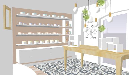 Présentoir produits et atelier