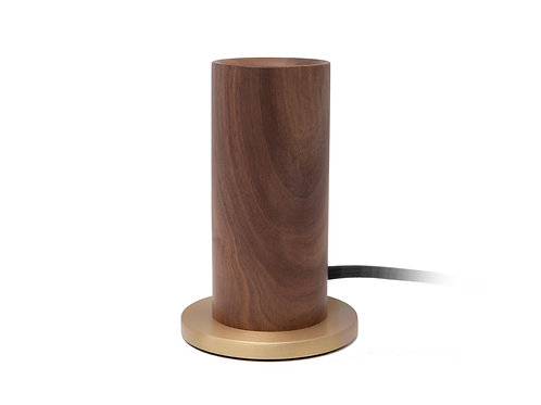 Walnut Touchlamp