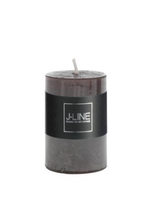 Bougie Cylindre 18H Marron foncé 9293