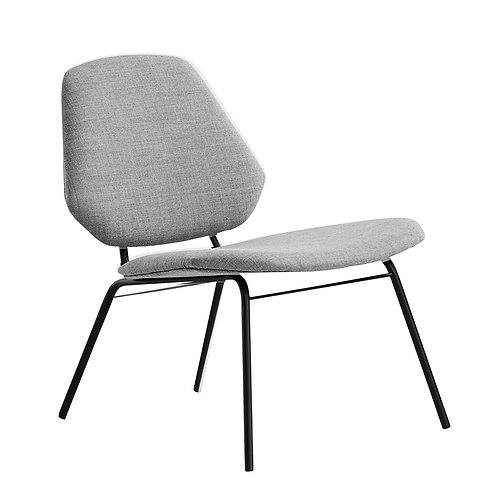 Chaise lounge grise