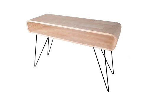 METRO SQUARE TABLE GRANDE TIMBER /BRAS NOIRS