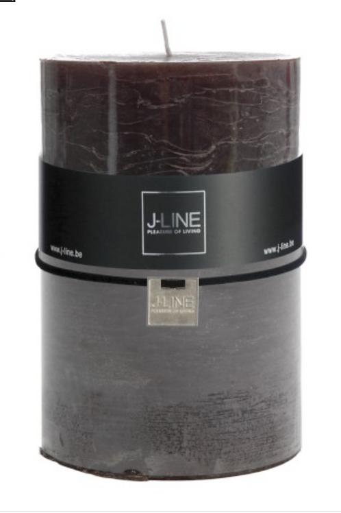 Bougies cylindre 120H Marron foncé 9297