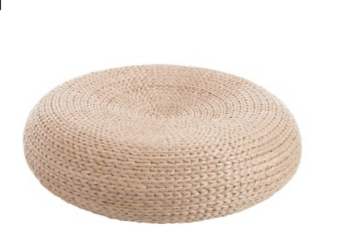 70853 POUF COUSSIN ROTIN NATURAL