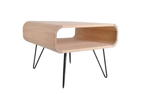 METRO SQUARE TABLE PETITE TIMBER /BRAS NOIRS