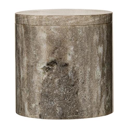 Boîte avec couvercle en marbre