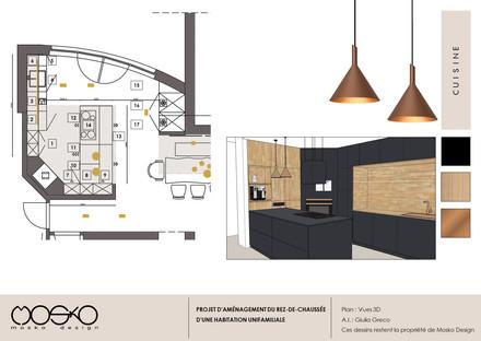Plan détaillé de la cuisine