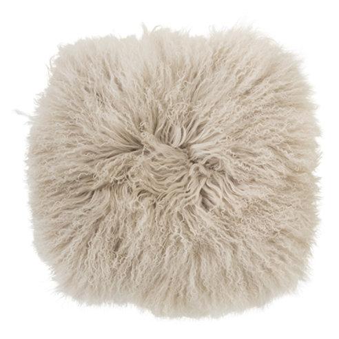 Housse de siège en laine de mouton