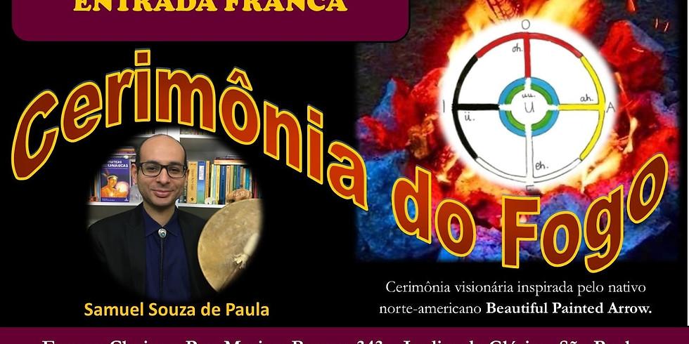Cerimônia do Fogo em São Paulo