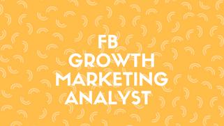 FB Growth Marketing Analyst | 面经