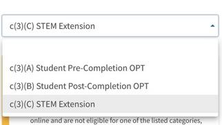 2021 OPT EXT 网申流程