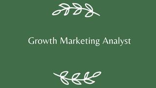 如何拿下Facebook Growth Marketing Analyst
