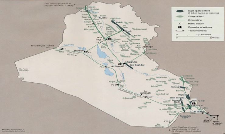 IRAQ – ENERGY RESOURCES