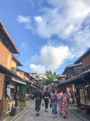 Ninen-Zaka, Kyoto, Japan. Summer