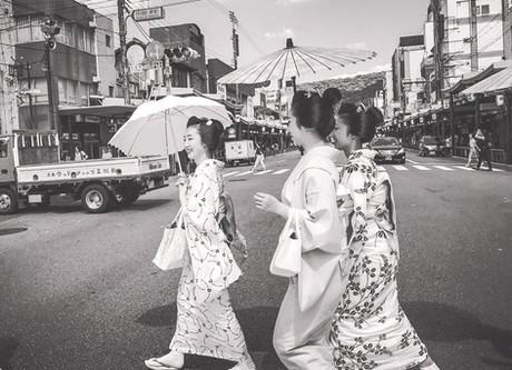 Gion, Kyoto, Japan. Summer