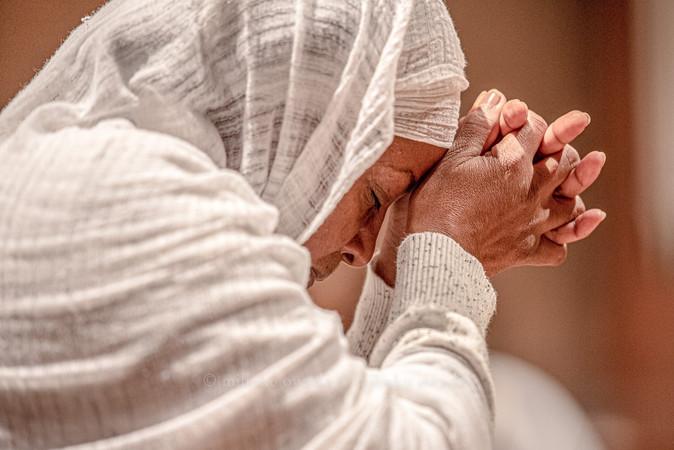 Ethiopian Woman Praying