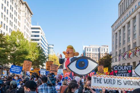 Nov. 6. 2020. Post Election Protest