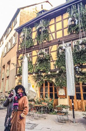 Strasbourg, France. Winter