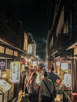 Ponto-Cho, Kyoto, Japan. Summer