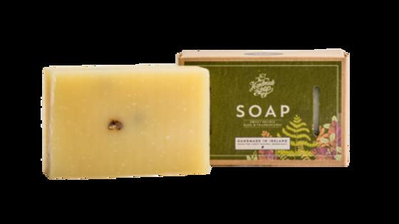 SWEET ORANGE, BASIL & FRANKINCENSE SOAP