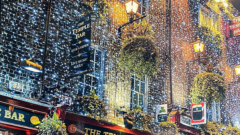 Christmas at Temple Bar-Box of 10- Photo by Mary Margaret Branson
