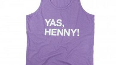 Pre-Order - Queer Eye Yas Henny Purple Tank Tee
