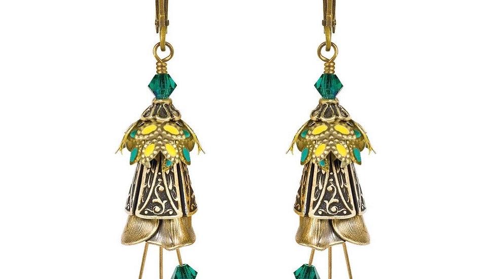 Fairy Flowers: Celtic Whimsy Earrings
