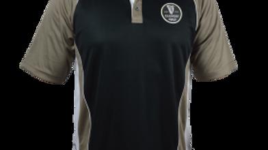 Guinness Brown Paneled Performance Golf Shirt