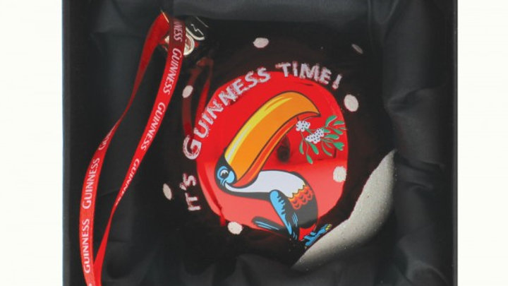 Guinness Toucan Pint Bauble