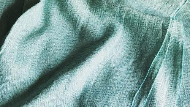 Simply Birch Mint Green Linen Throw