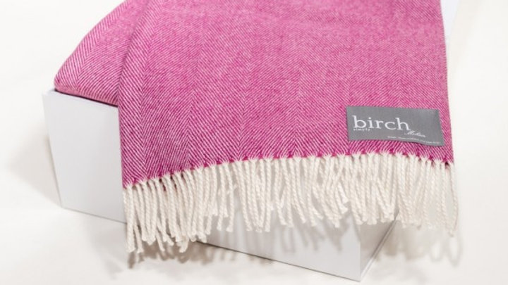 Simply Birch Beetroot HB Supersoft Lambswool
