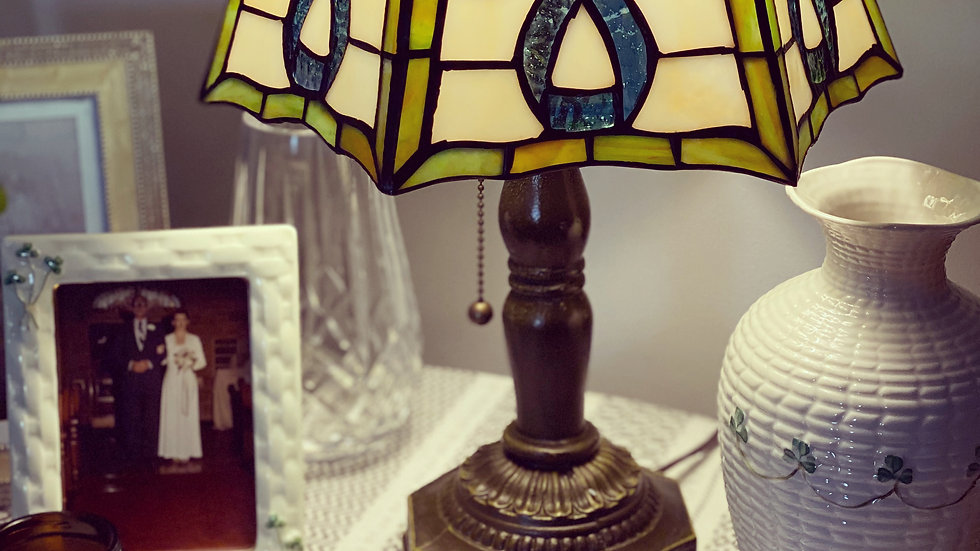 Pleated Celtic Lamp
