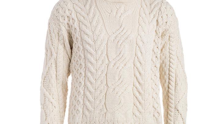 Boyne Valley Knitwear The Maire Wool Irish Sweater