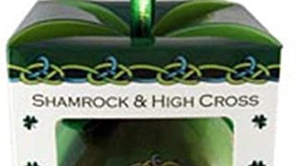 Shamrock High Cross Ornament