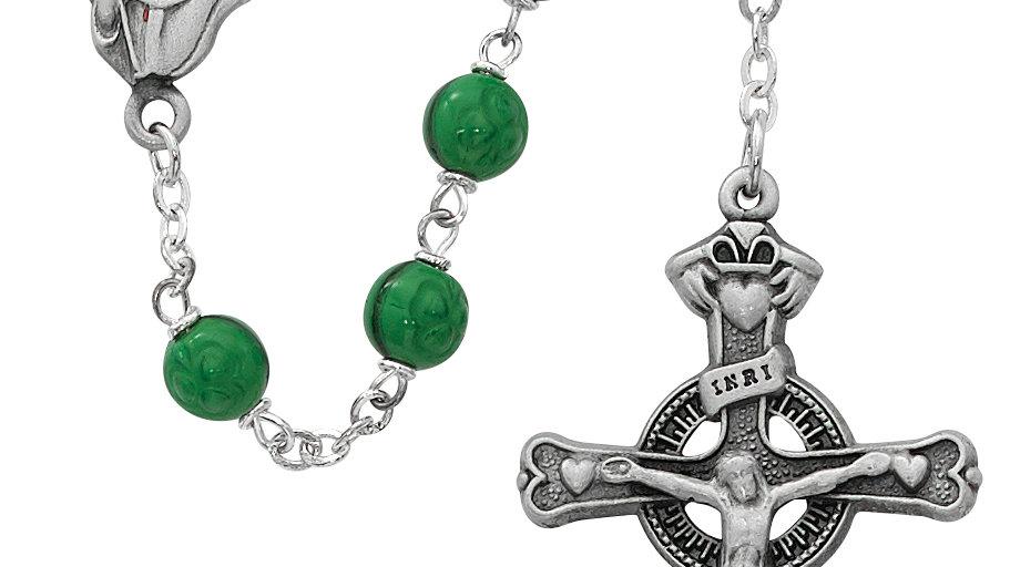 Green St. Patrick Rosary