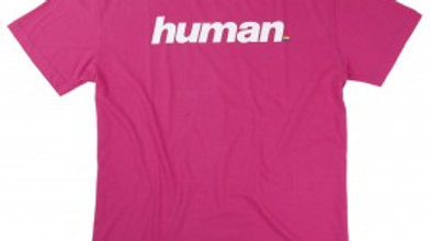 Pre-Order - Queer Eye Magenta Tee with White Human Print