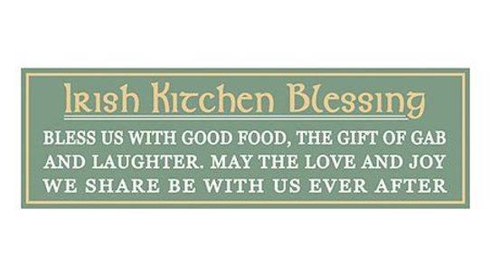 Irish Kitchen Blessing