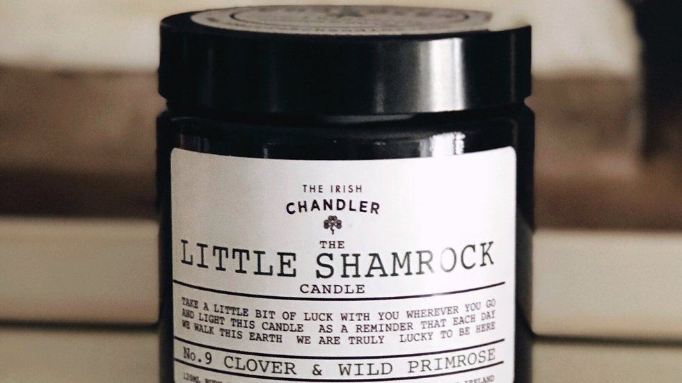 Little Shamrock Candle
